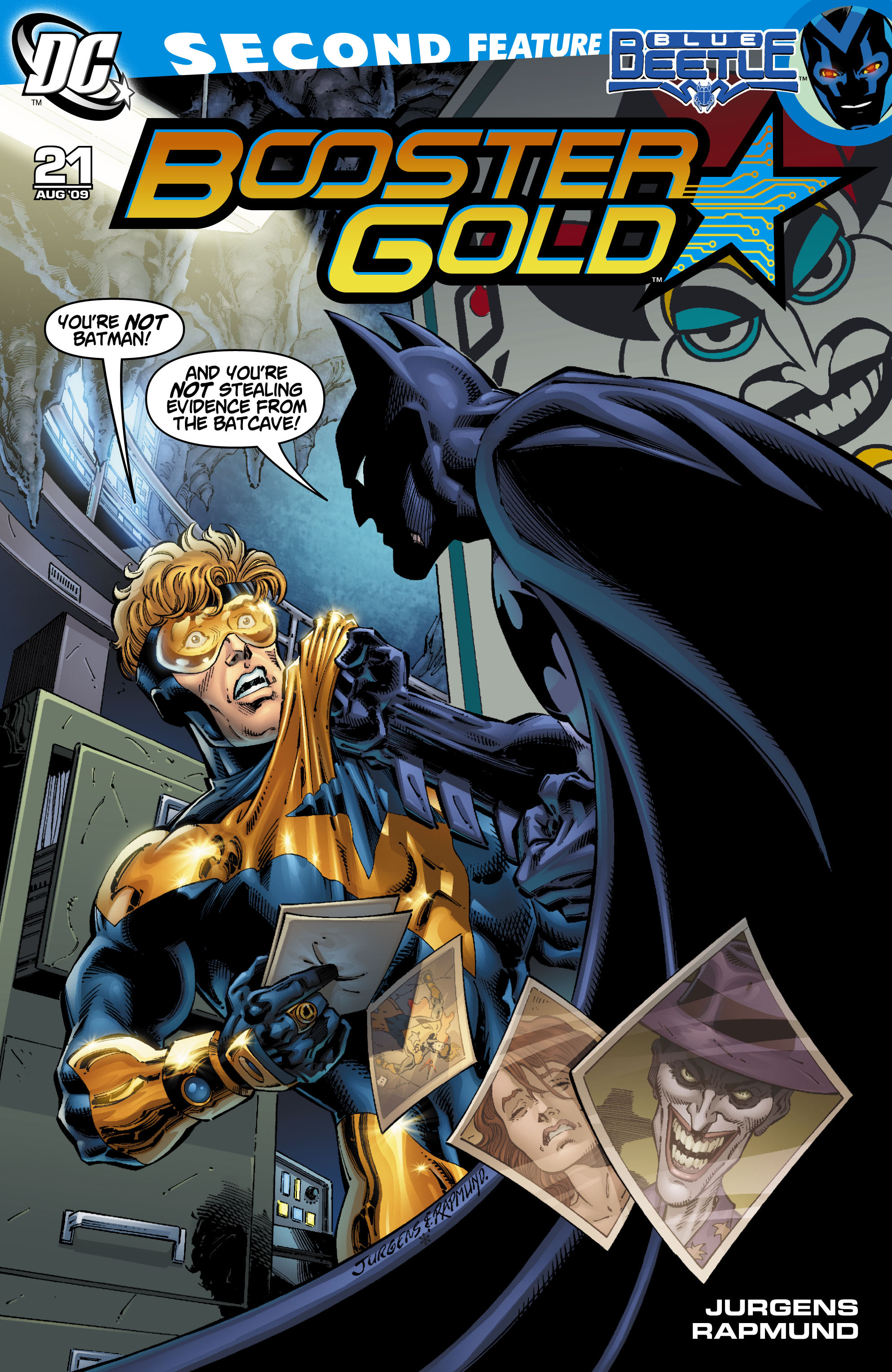 Booster Gold 2007 Issue 21