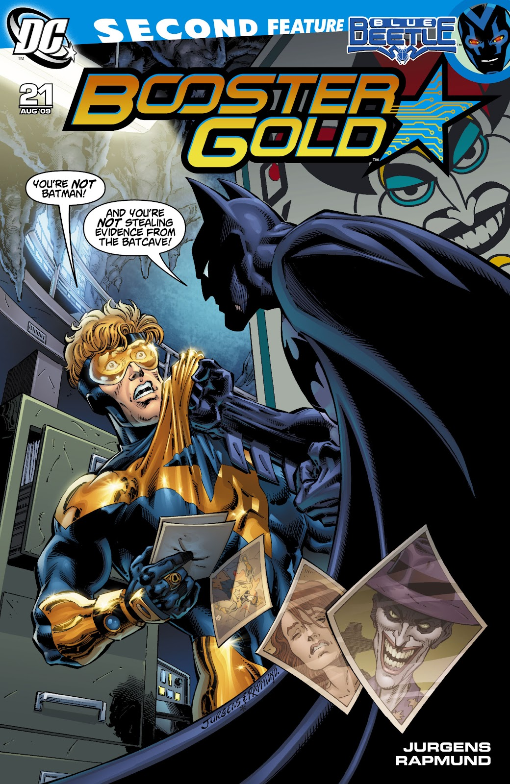 Booster Gold (2007) issue 21 - Page 1