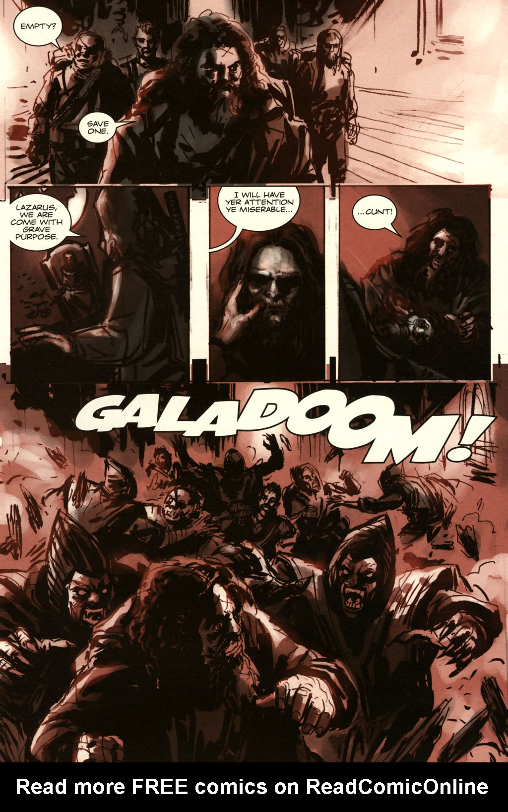 Read online Sea of Red comic -  Issue #11 - 8