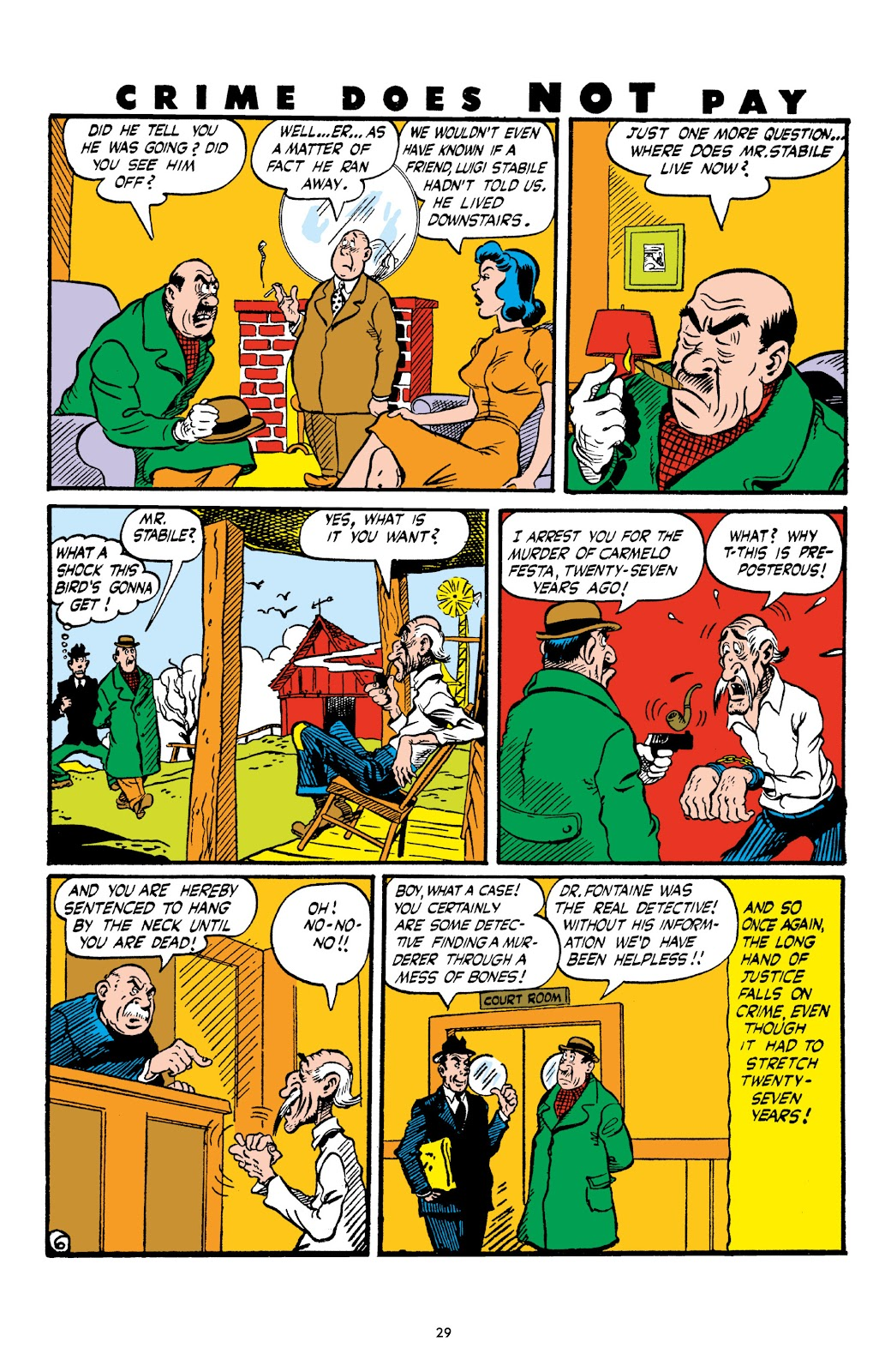 Read online Crime Does Not Pay Archives comic -  Issue # TPB 4 (Part 1) - 29