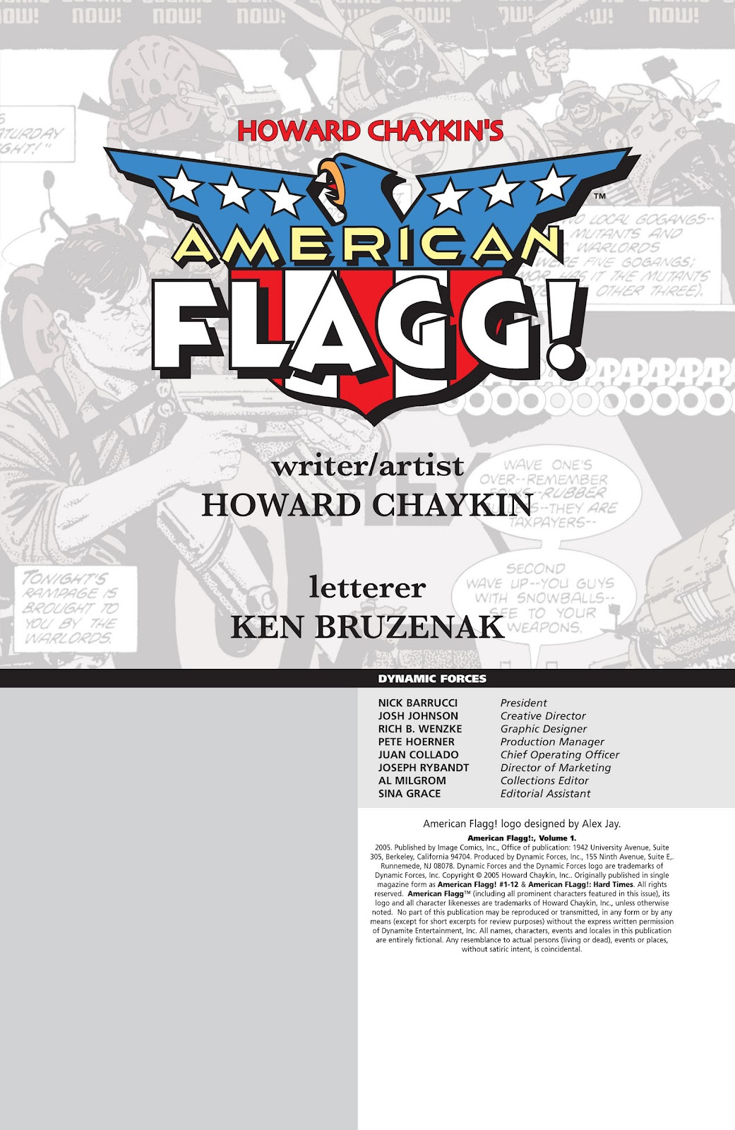 American Flagg! issue Definitive Collection (Part 1) - Page 4