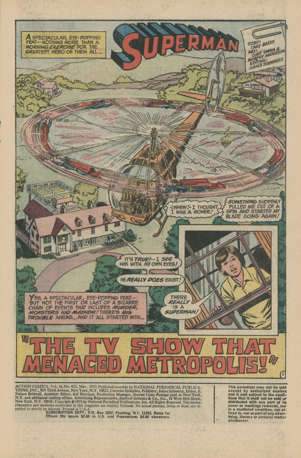 Read online Action Comics (1938) comic -  Issue #422 - 3