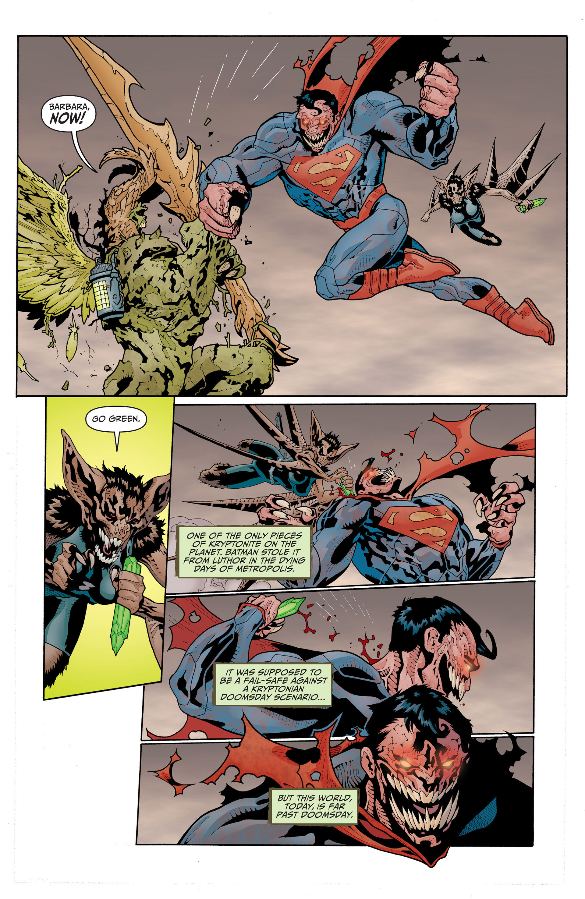 Read online Animal Man (2011) comic -  Issue #17 - 7