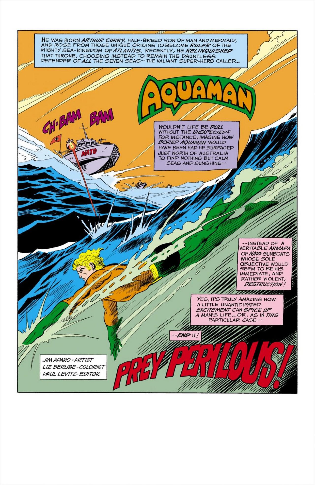 Read online Aquaman (1962) comic -  Issue #59 - 2