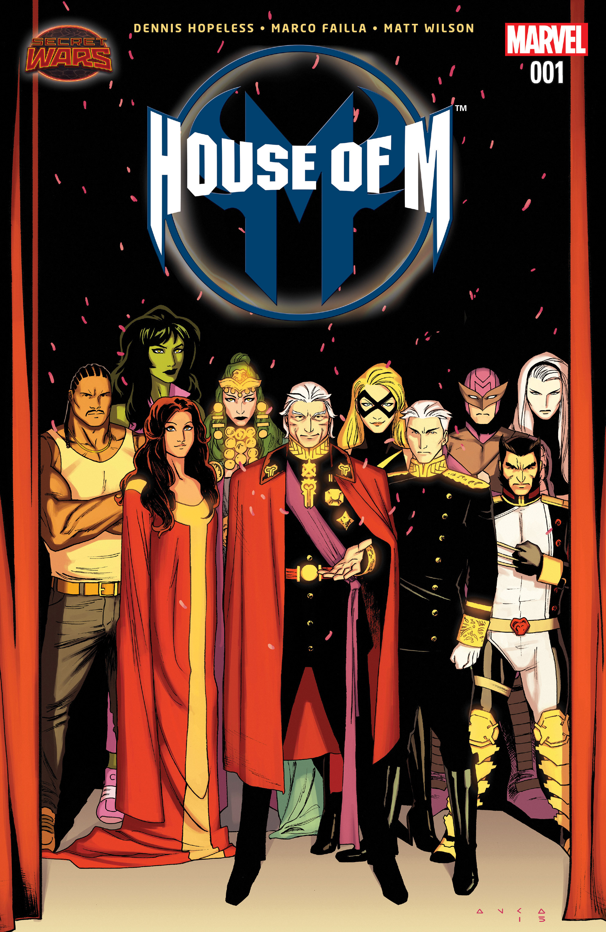 Read online House of M (2015) comic -  Issue #1 - 1