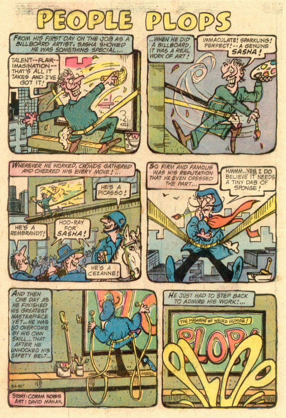 Read online Plop! comic -  Issue #22 - 16