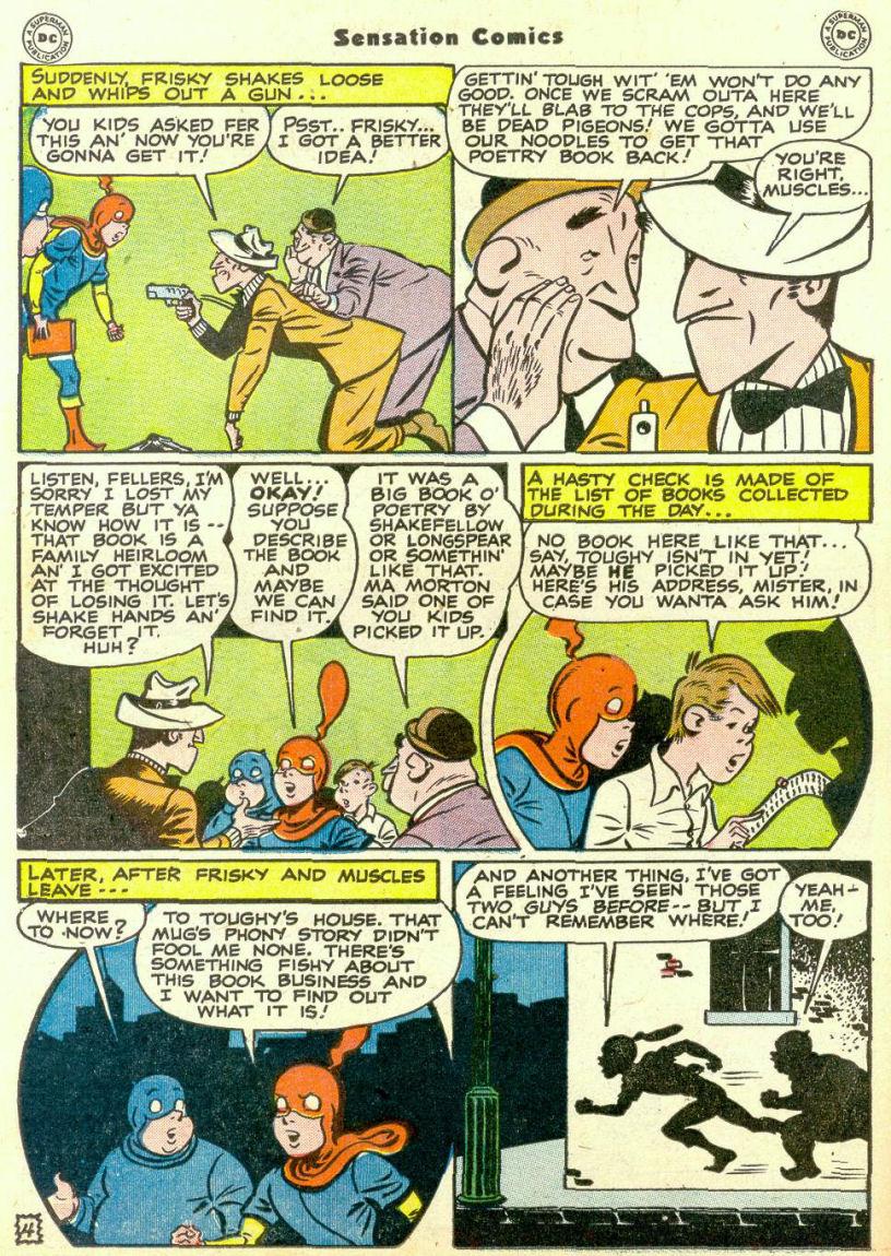 Read online Sensation (Mystery) Comics comic -  Issue #67 - 20