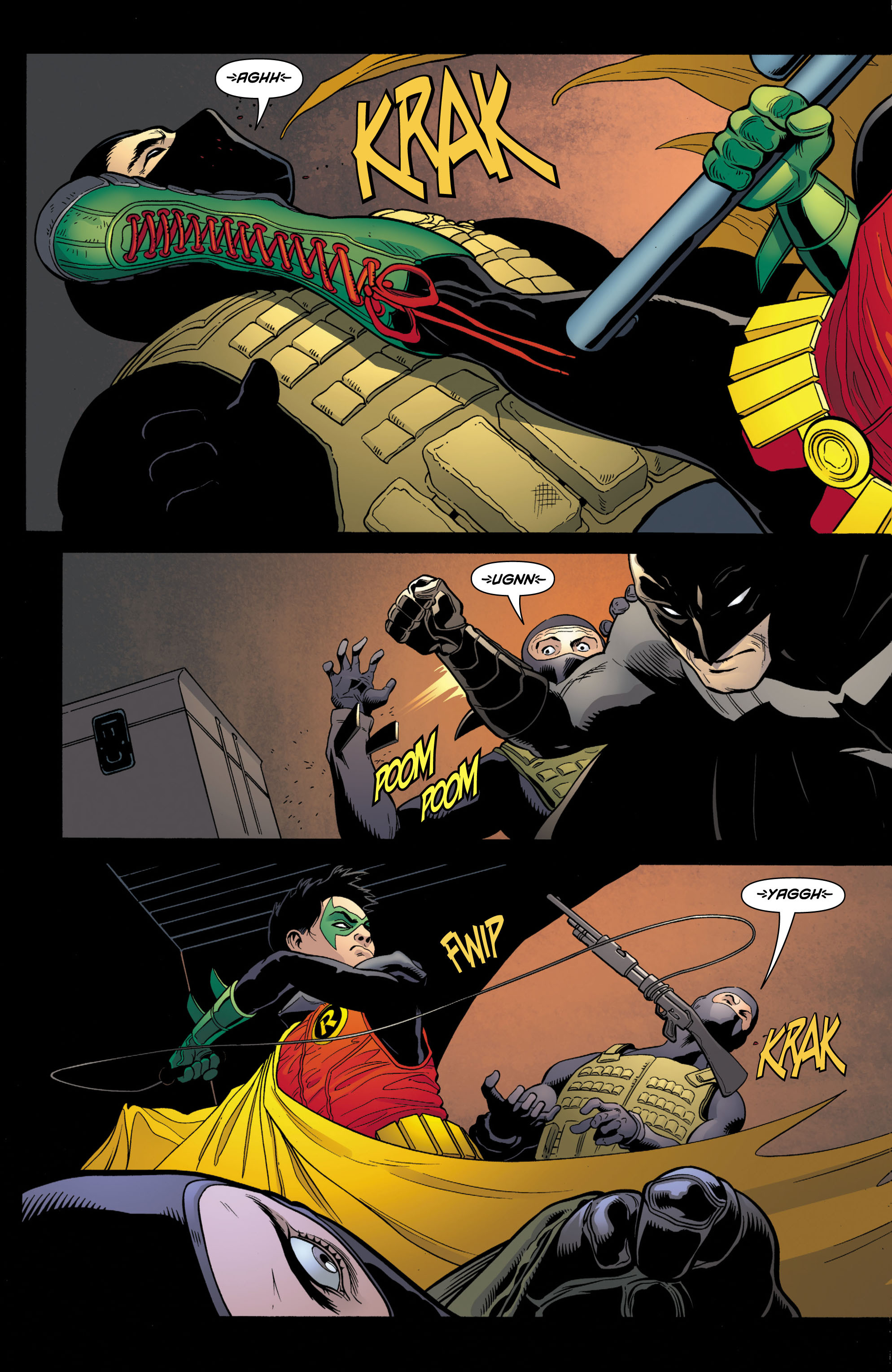Read online Batman and Robin (2011) comic -  Issue # TPB 1 - 34