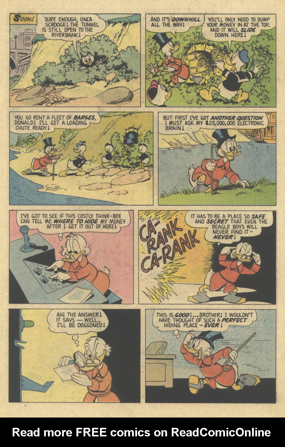 Read online Uncle Scrooge (1953) comic -  Issue #209 - 11