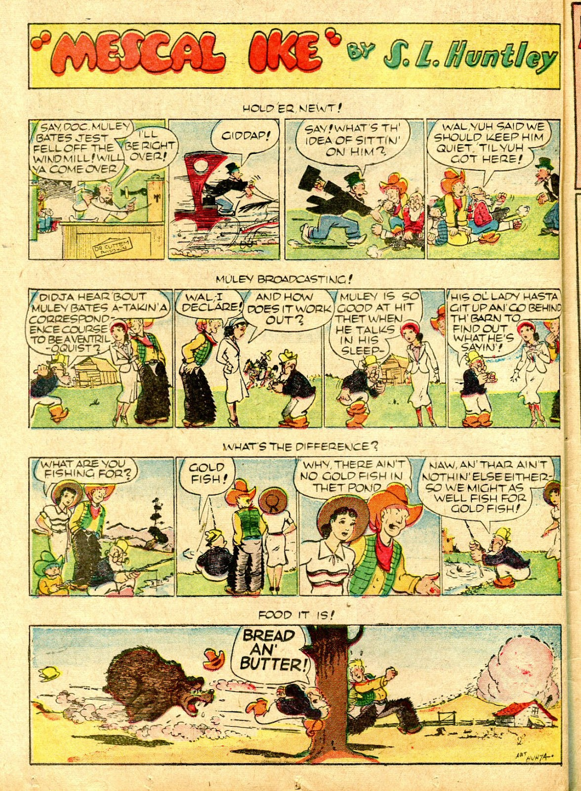 Read online Famous Funnies comic -  Issue #63 - 49