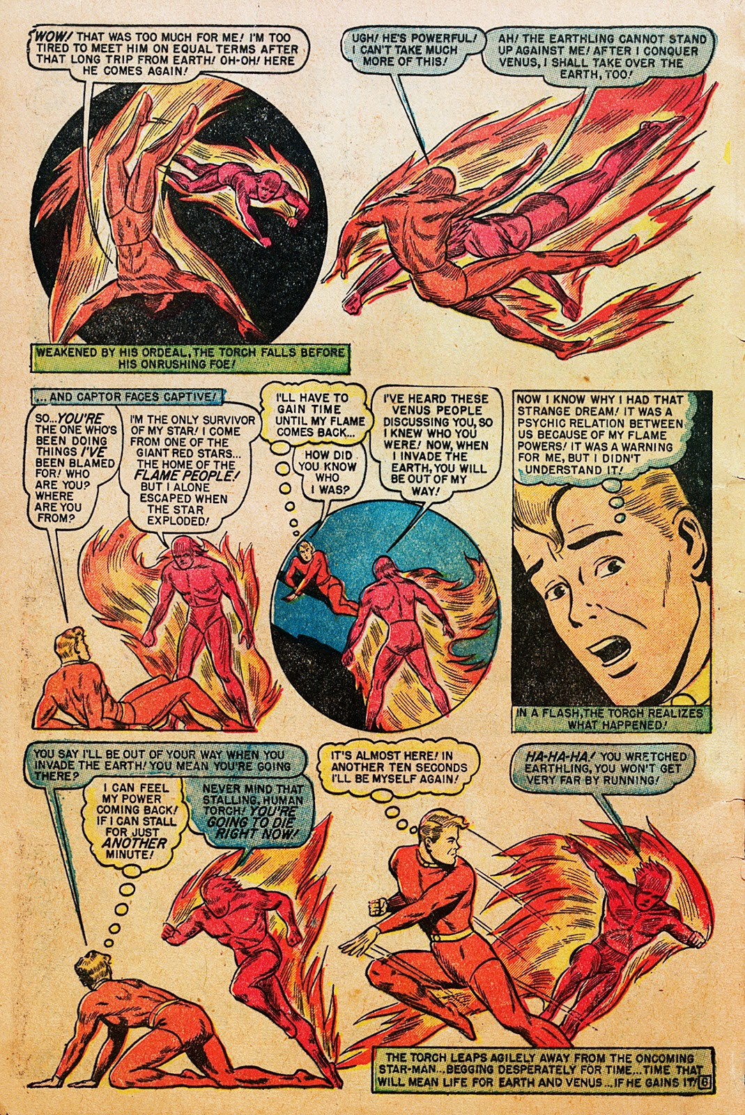 Comic The Human Torch (1940) issue 35
