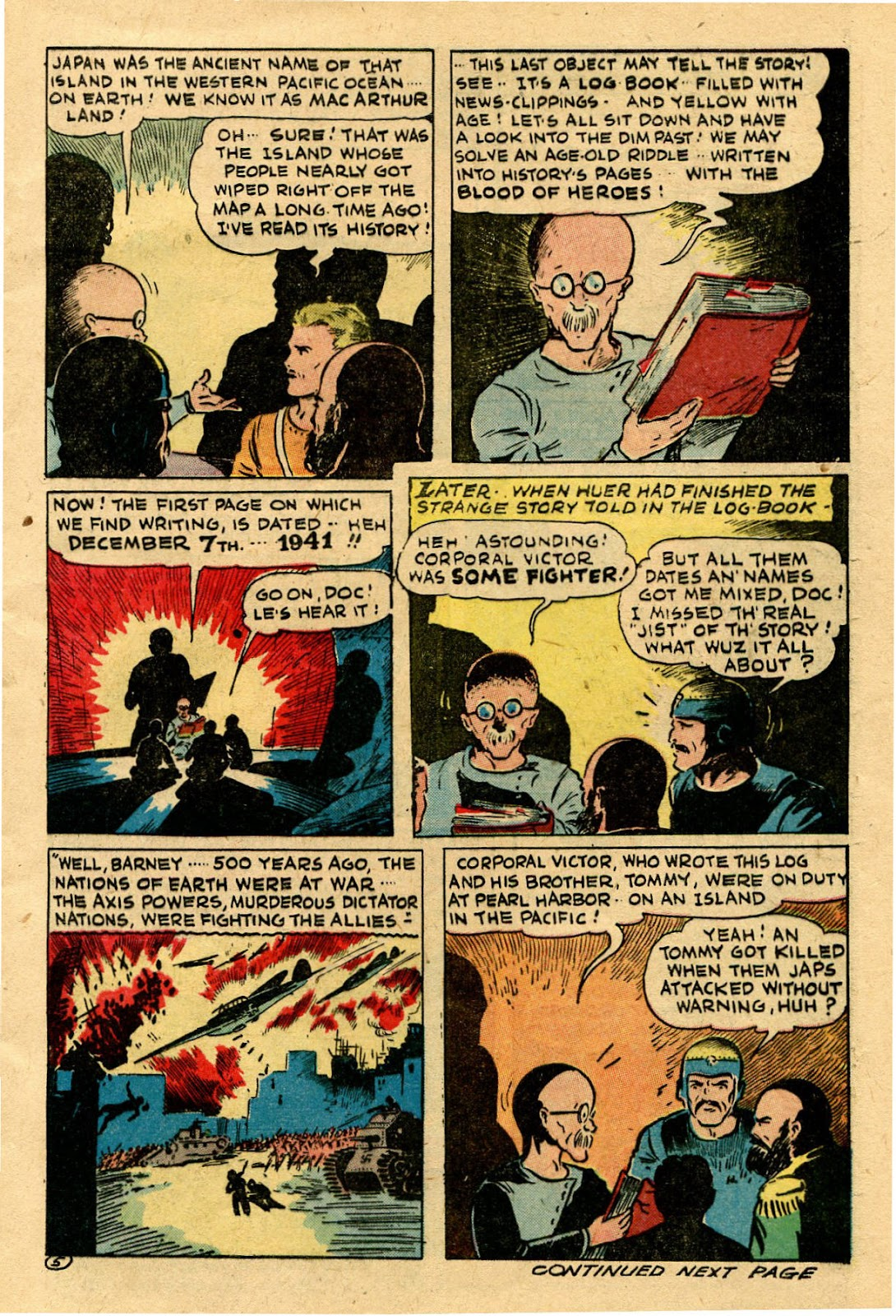 Read online Famous Funnies comic -  Issue #116 - 9