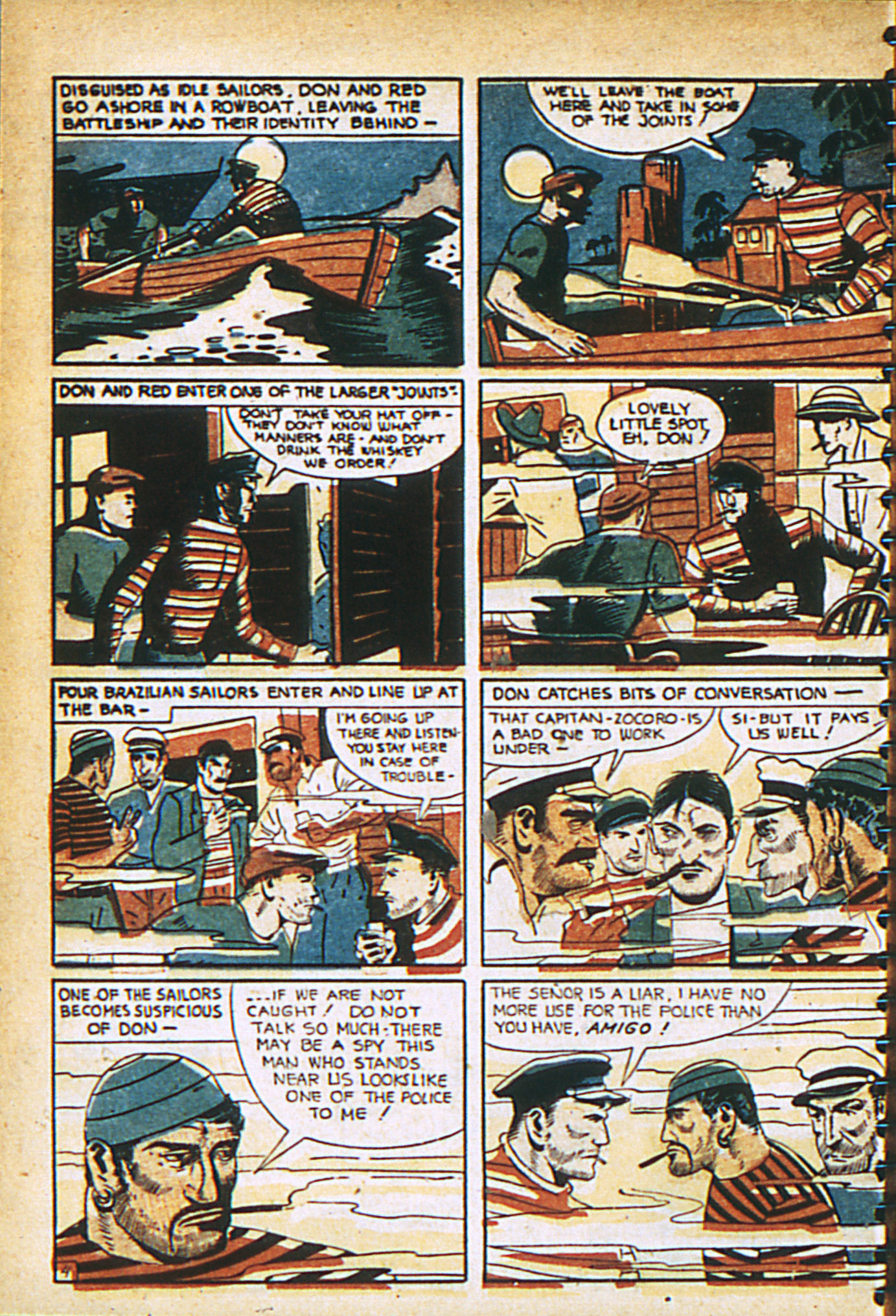 Read online Adventure Comics (1938) comic -  Issue #29 - 7