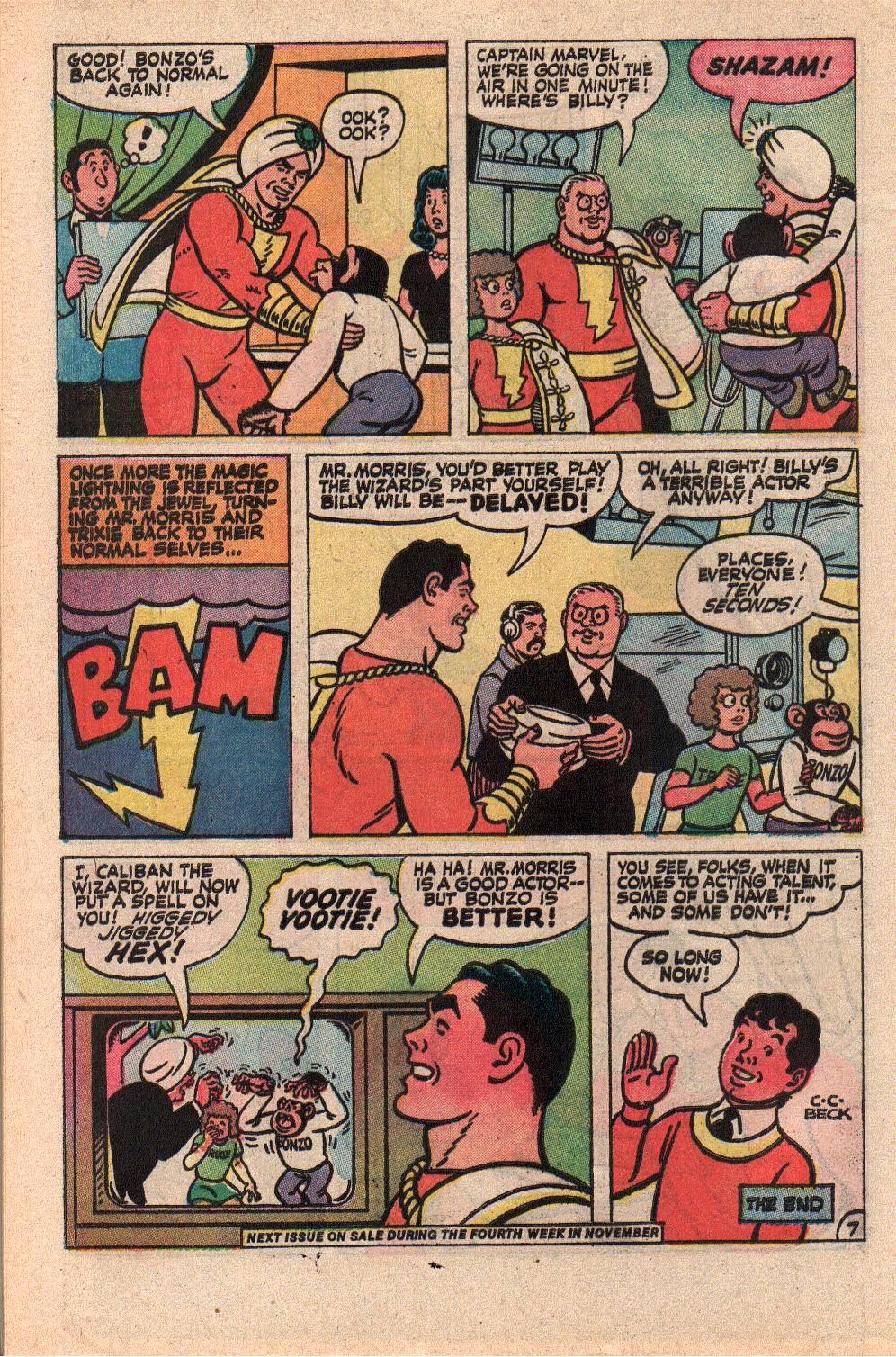 Read online Shazam! (1973) comic -  Issue #9 - 32