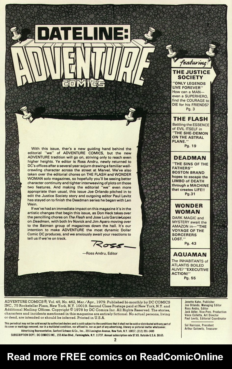Read online Adventure Comics (1938) comic -  Issue #462 - 2