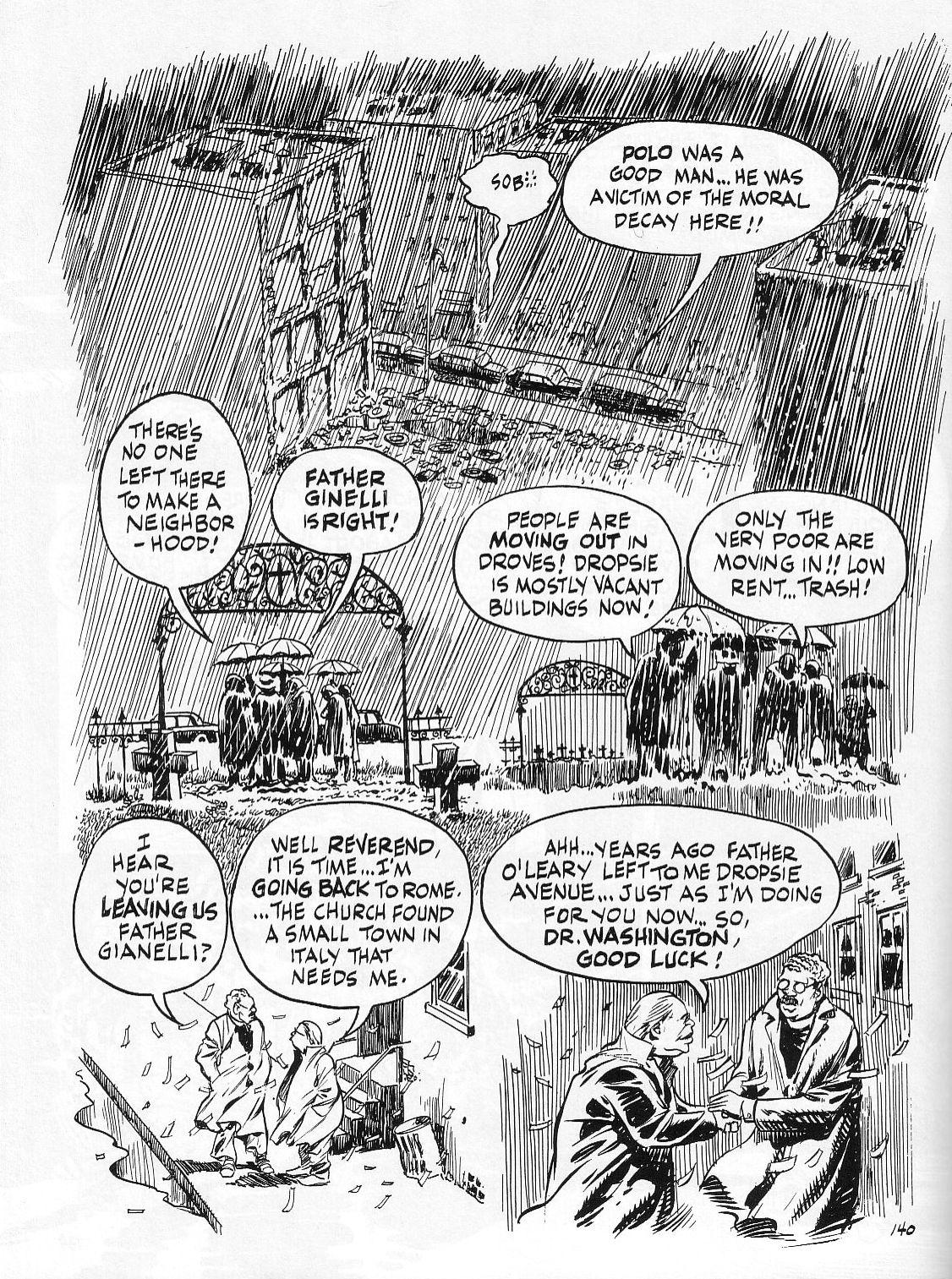 Read online Dropsie Avenue, The Neighborhood comic -  Issue # Full - 142