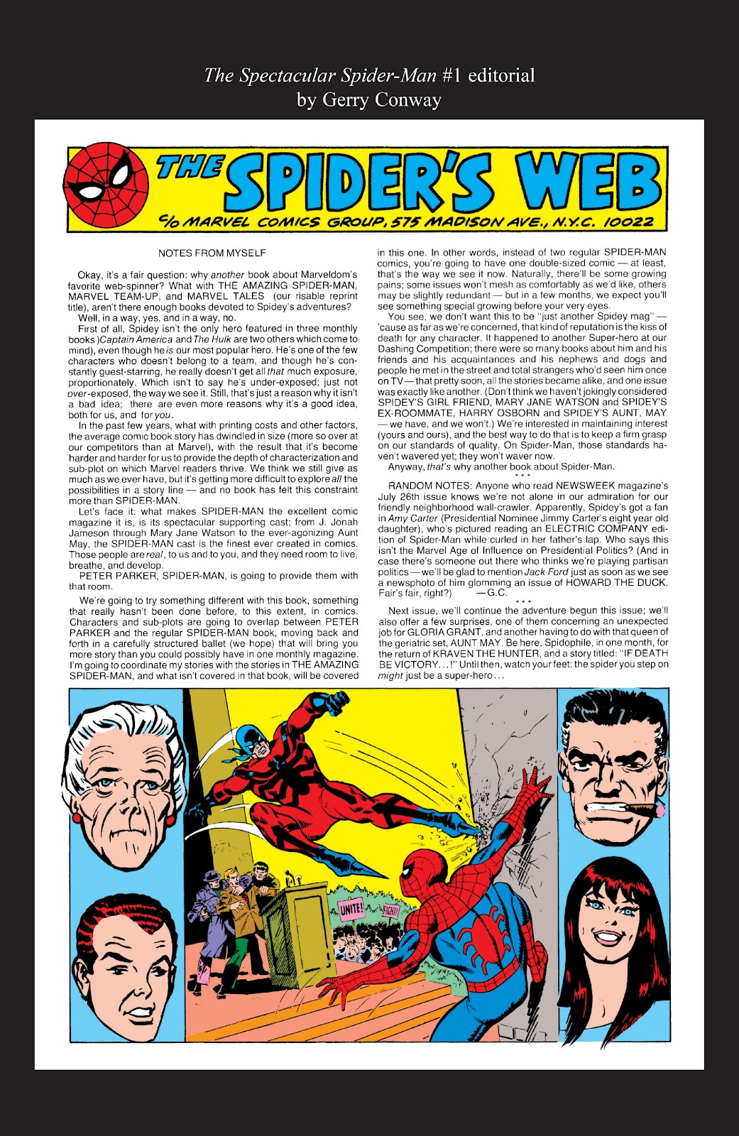 Read online Marvel Masterworks: The Spectacular Spider-Man comic -  Issue # TPB (Part 3) - 64