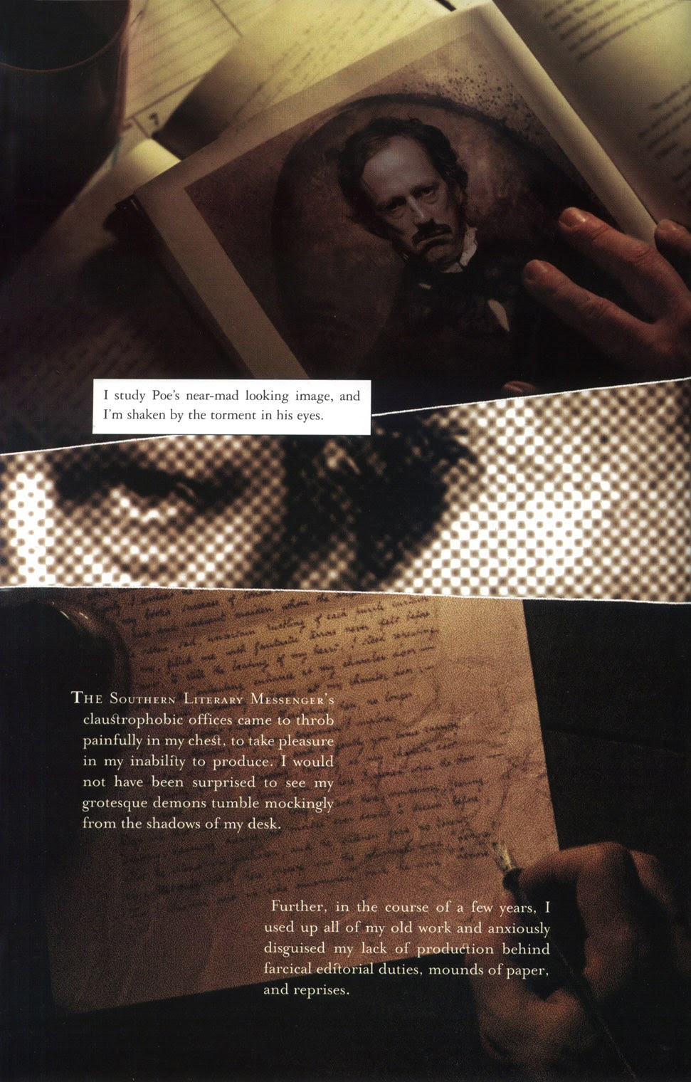 Read online In the Shadow of Edgar Allan Poe comic -  Issue # TPB - 44
