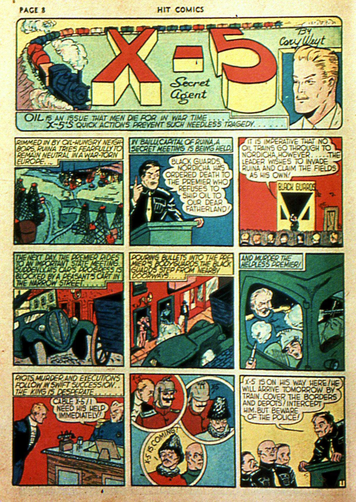 Read online Hit Comics comic -  Issue #2 - 10