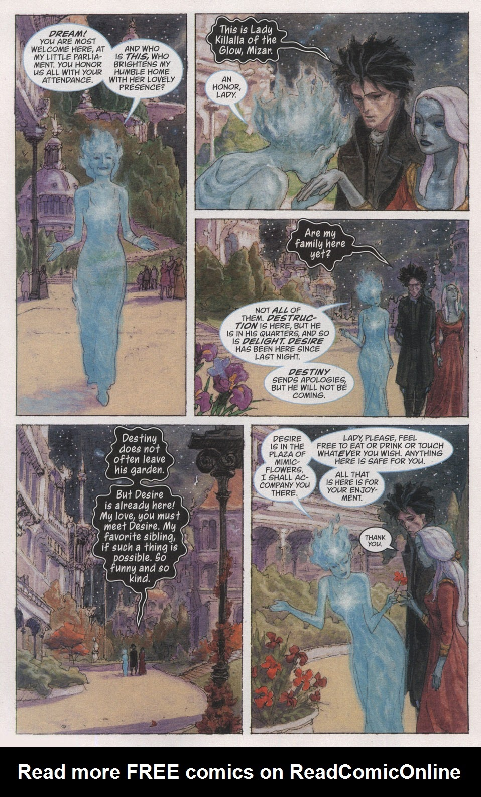 Read online The Sandman: Endless Nights comic -  Issue # _Special - 8