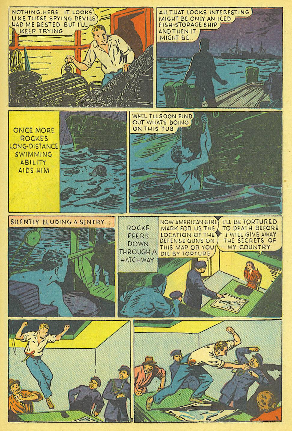 Read online Amazing Man Comics comic -  Issue #19 - 33