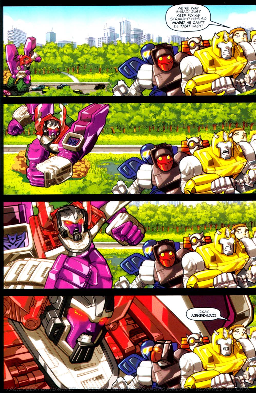 Read online Transformers Armada comic -  Issue #4 - 8