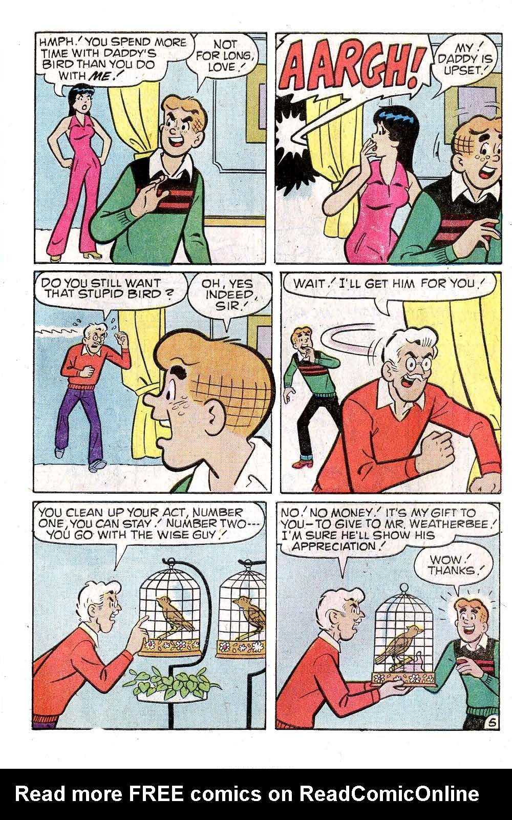 Read online Archie (1960) comic -  Issue #269 - 7
