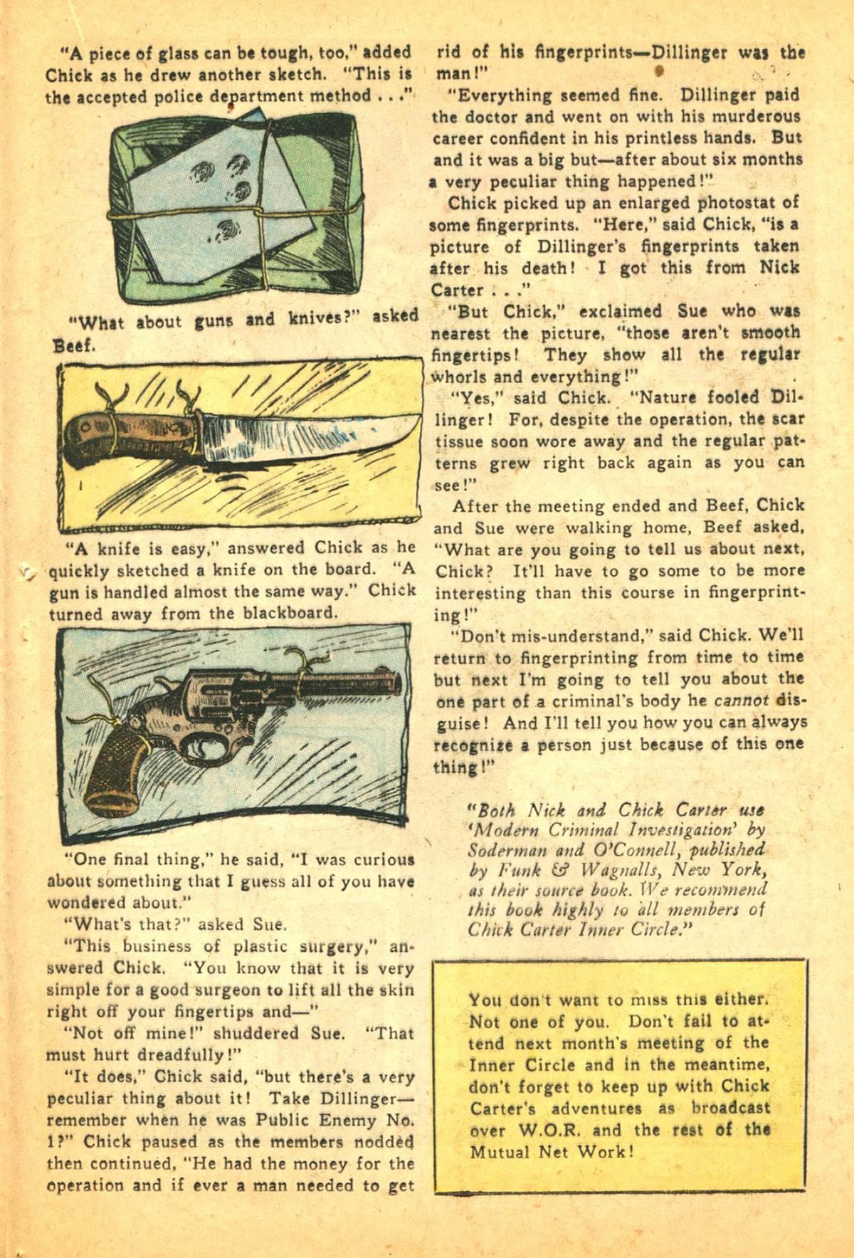 Read online Shadow Comics comic -  Issue #38 - 37