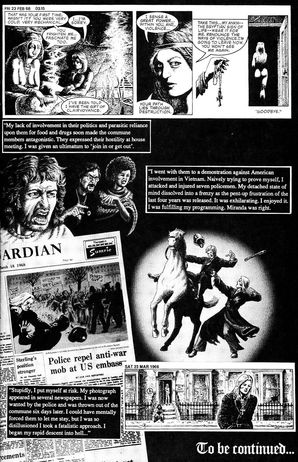 Read online The Adventures of Luther Arkwright comic -  Issue #2 - 23