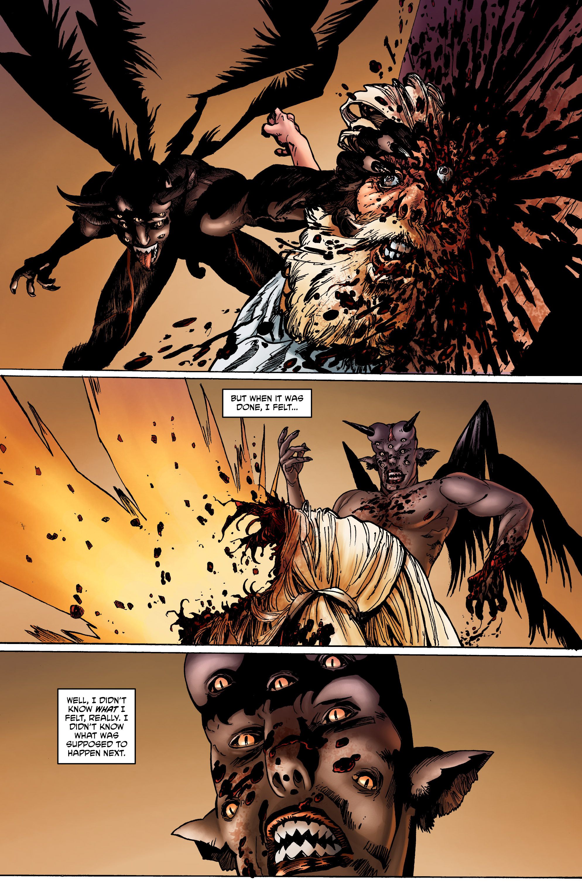 Read online God is Dead: Book of Acts comic -  Issue # Omega - 18