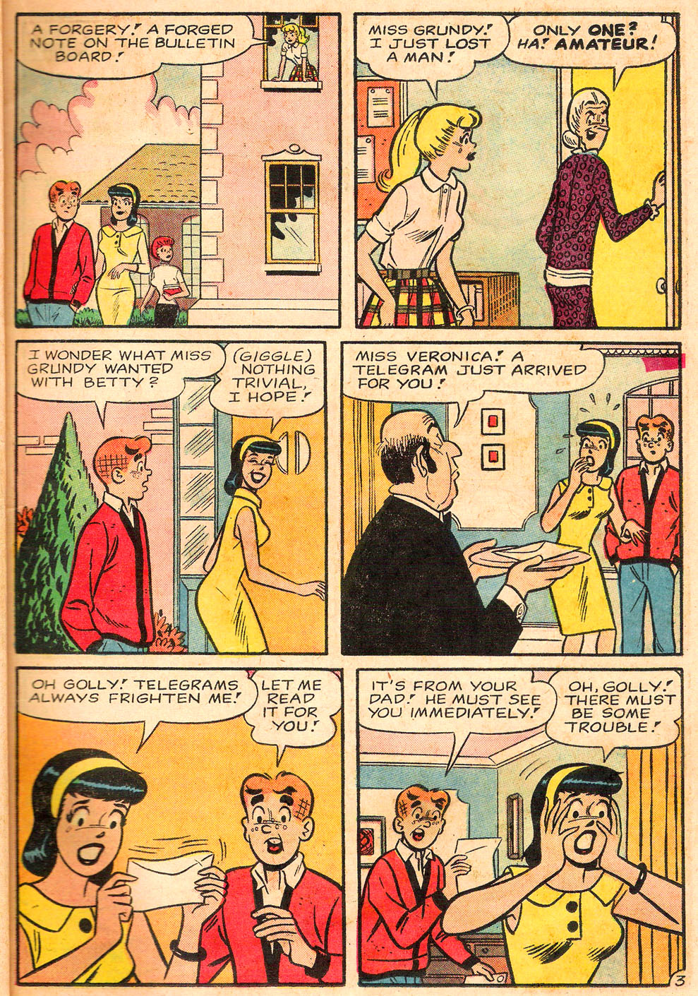 Read online Archie's Girls Betty and Veronica comic -  Issue #116 - 15