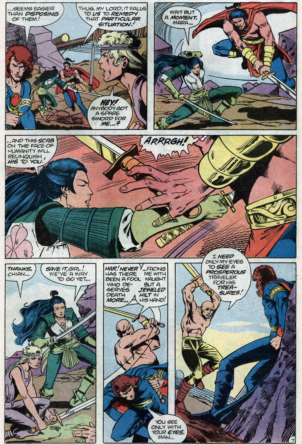 Read online Arion, Lord of Atlantis comic -  Issue #14 - 9