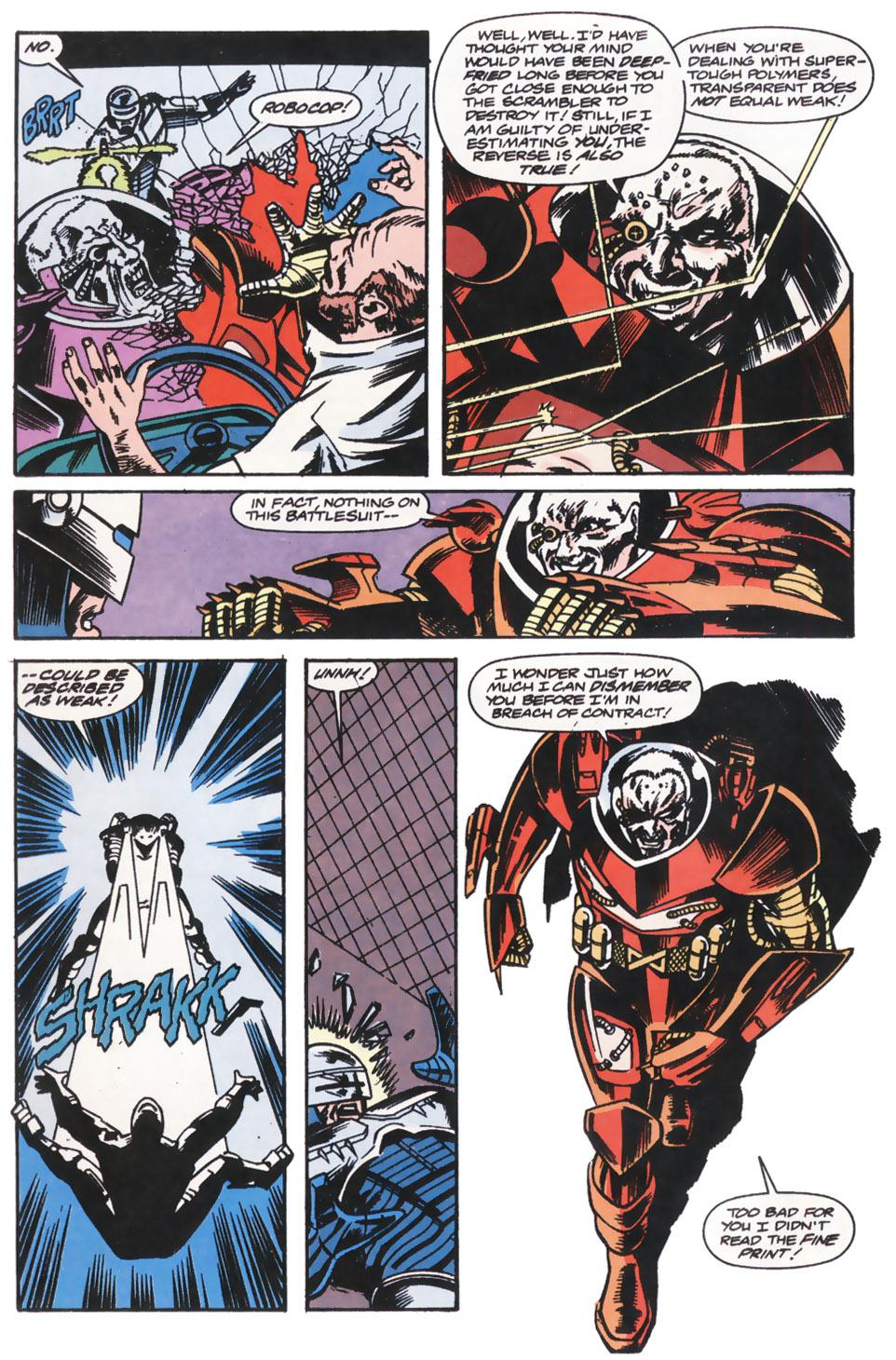 Read online Robocop (1990) comic -  Issue #14 - 19