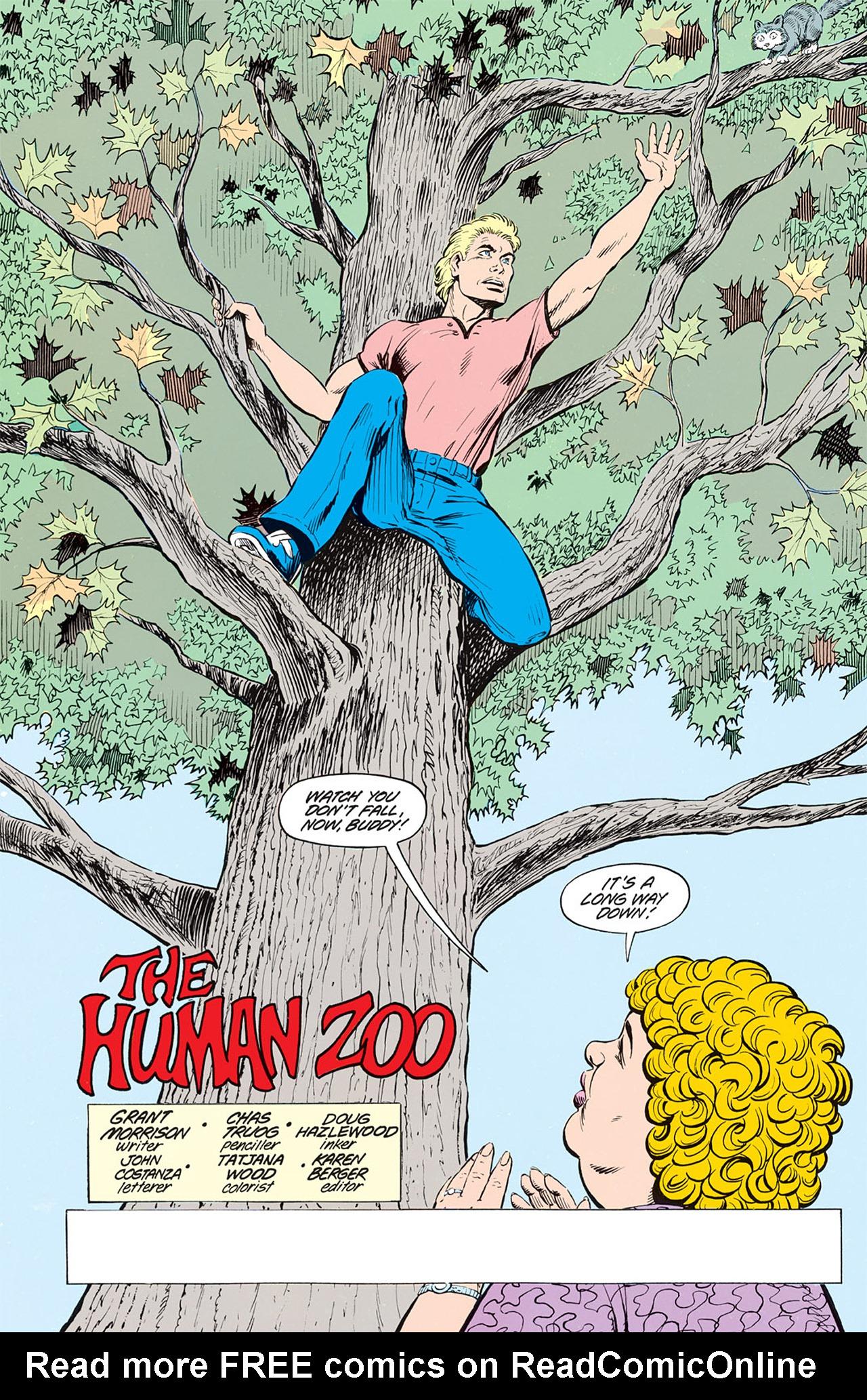 Read online Animal Man (1988) comic -  Issue #1 - 4
