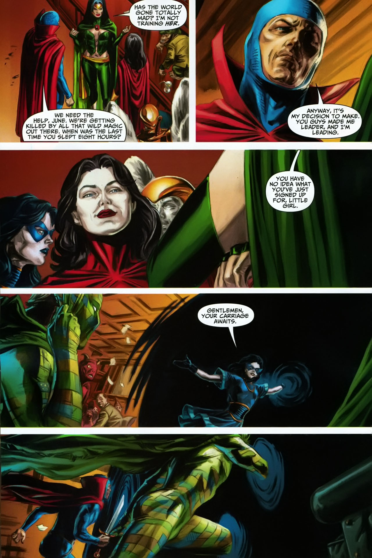 Read online Shadowpact comic -  Issue #17 - 12