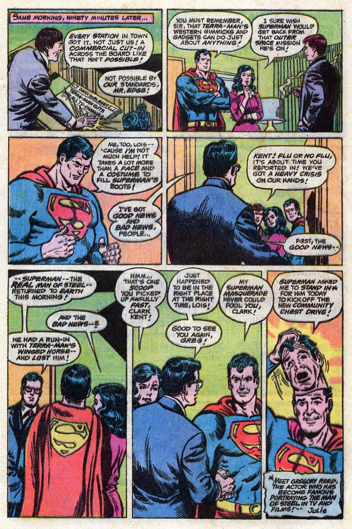 Read online Action Comics (1938) comic -  Issue #468 - 6