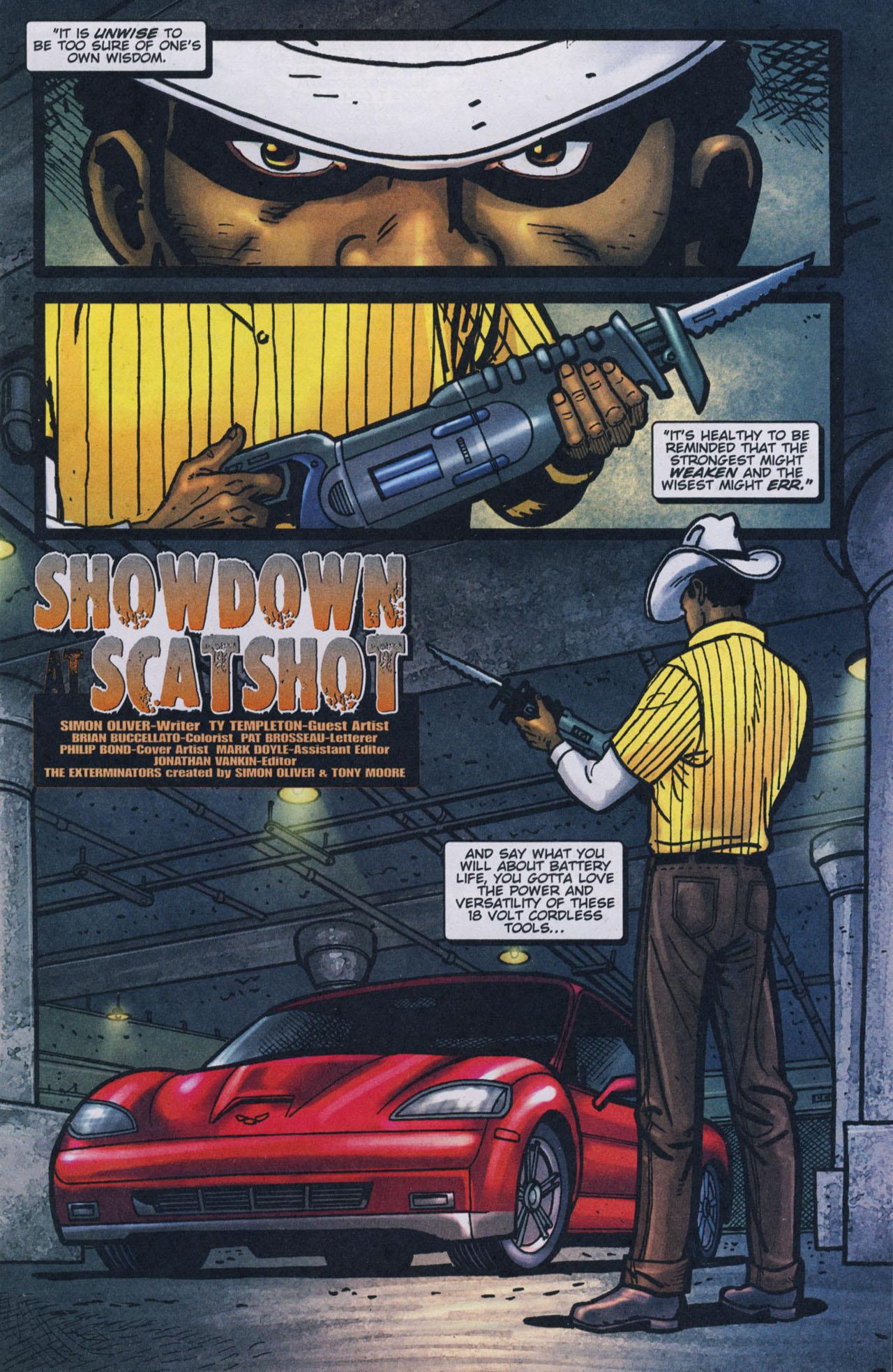 Read online The Exterminators comic -  Issue #17 - 2