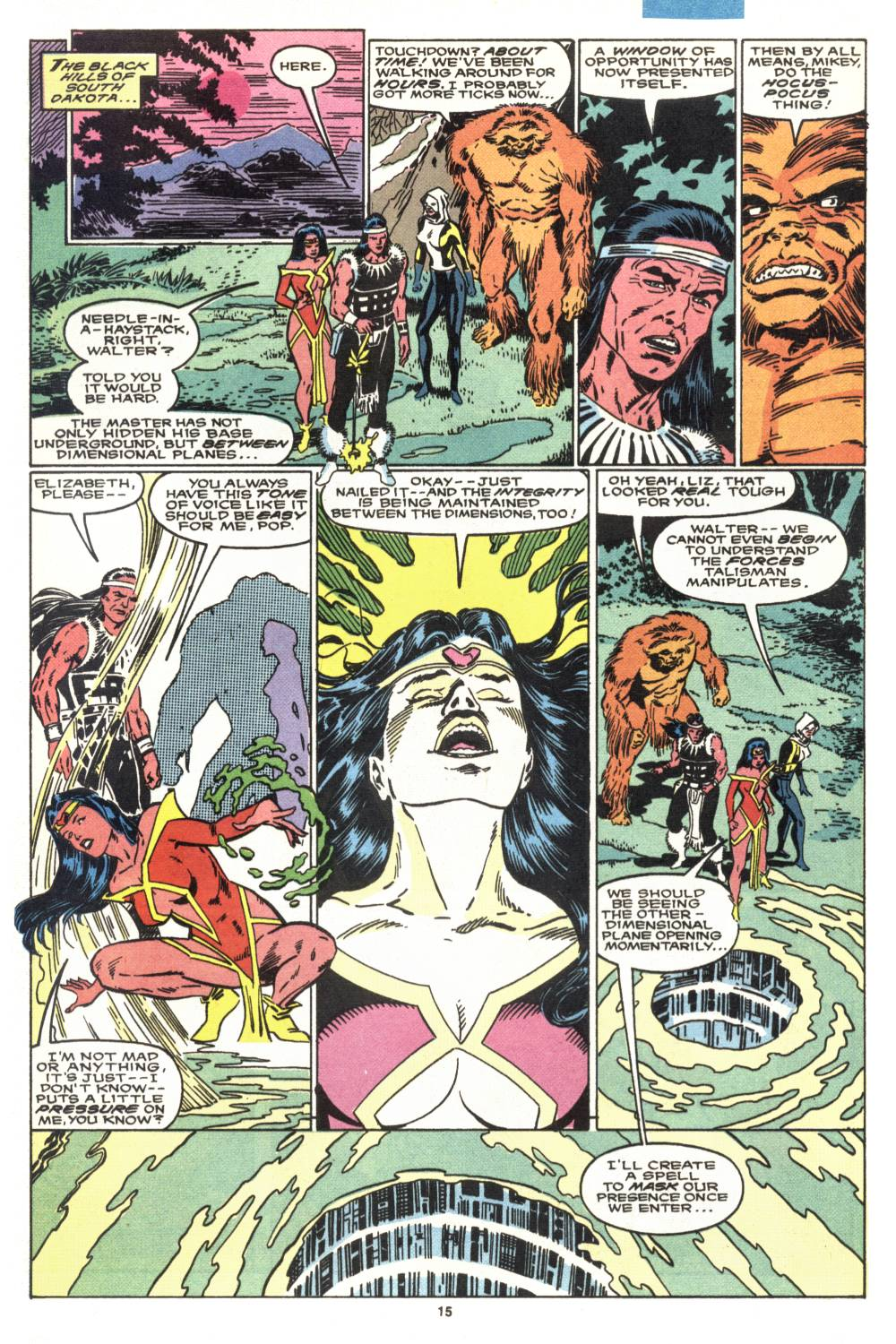 Read online Alpha Flight (1983) comic -  Issue #88 - 13
