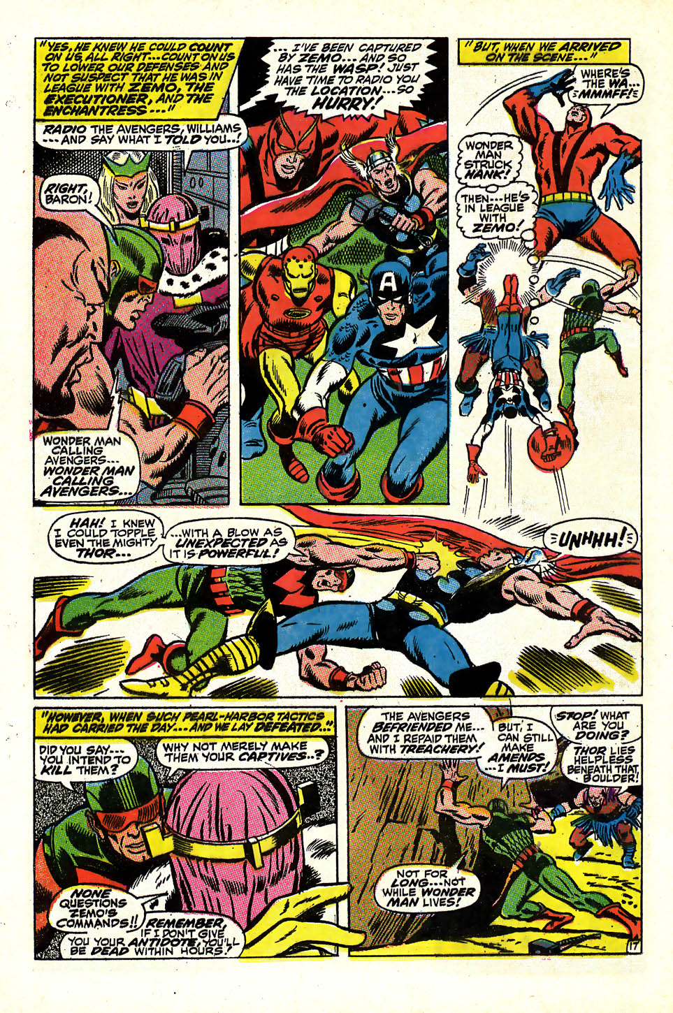 The Avengers (1963) 58 Page 17