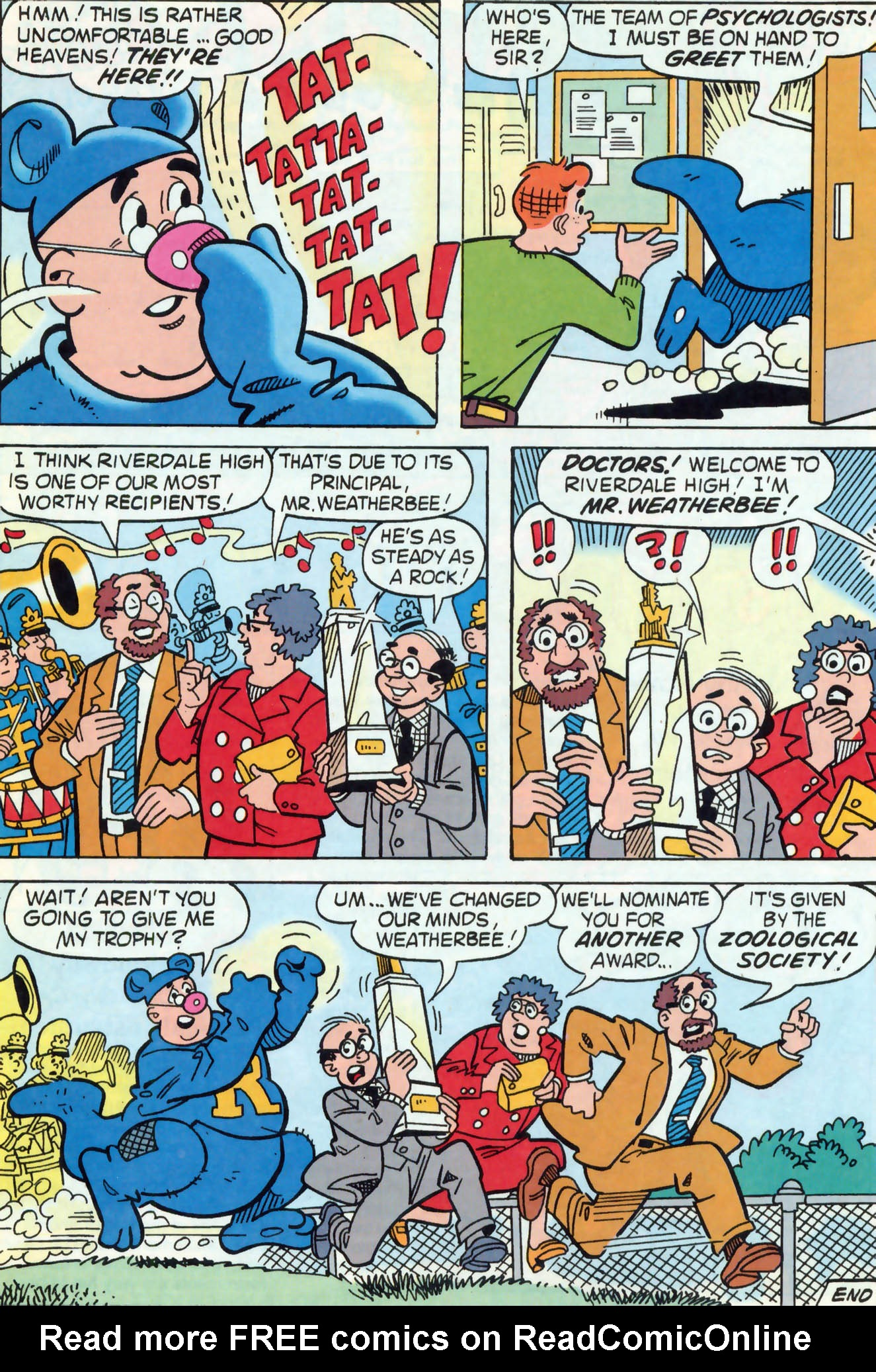 Read online Archie (1960) comic -  Issue #466 - 13