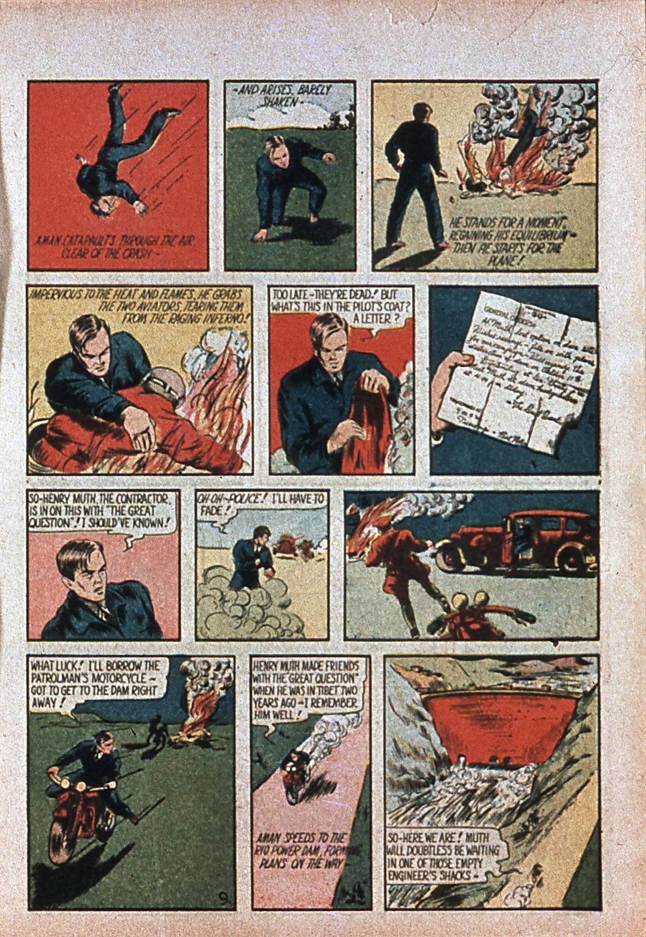 Read online Amazing Man Comics comic -  Issue #7 - 12