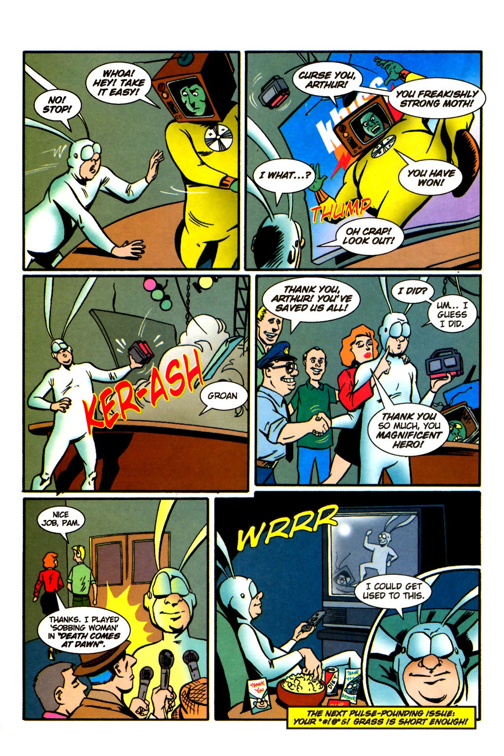 Read online The Tick: Days of Drama comic -  Issue #2 - 26