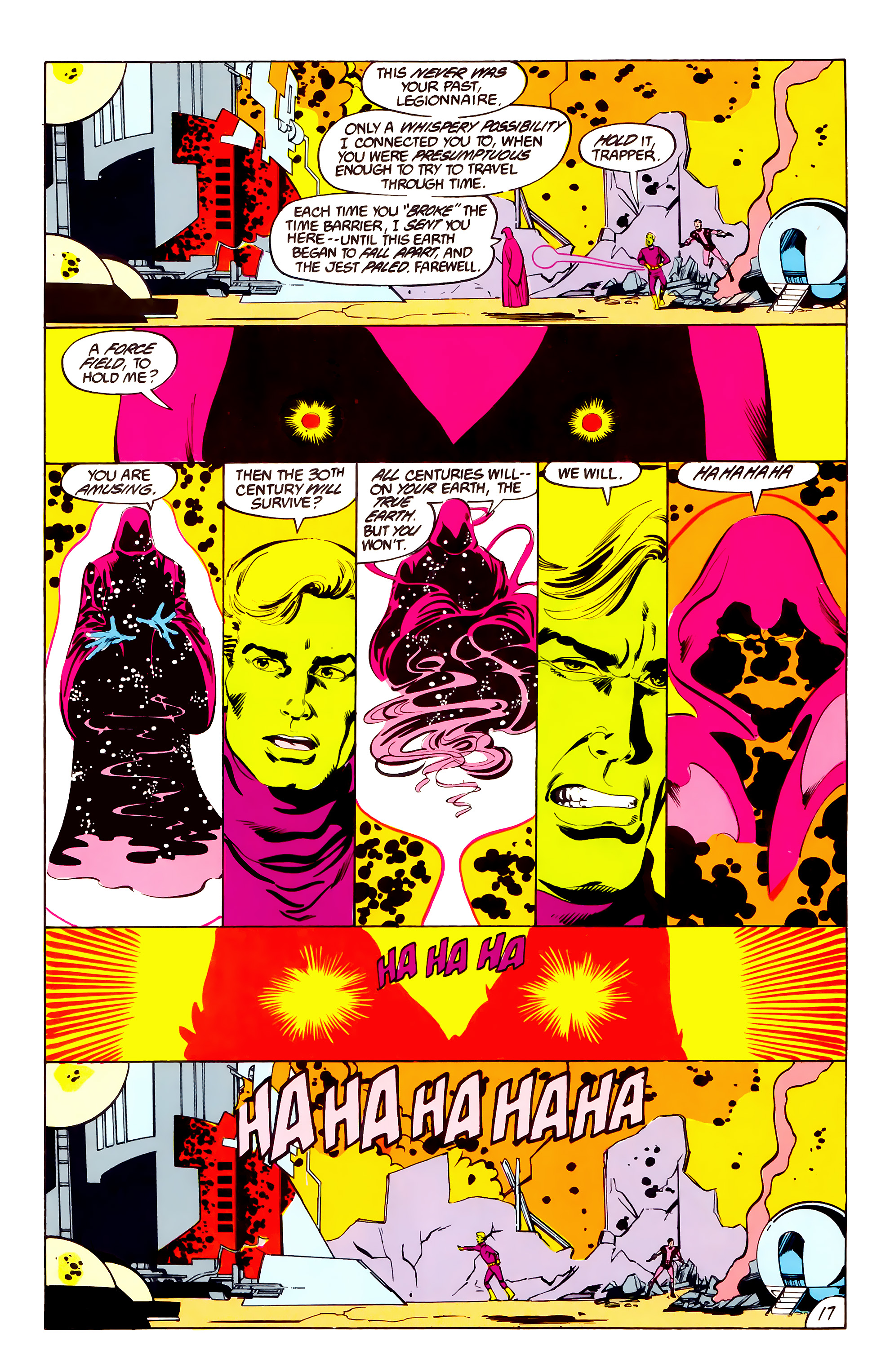 Legion of Super-Heroes (1984) 38 Page 17