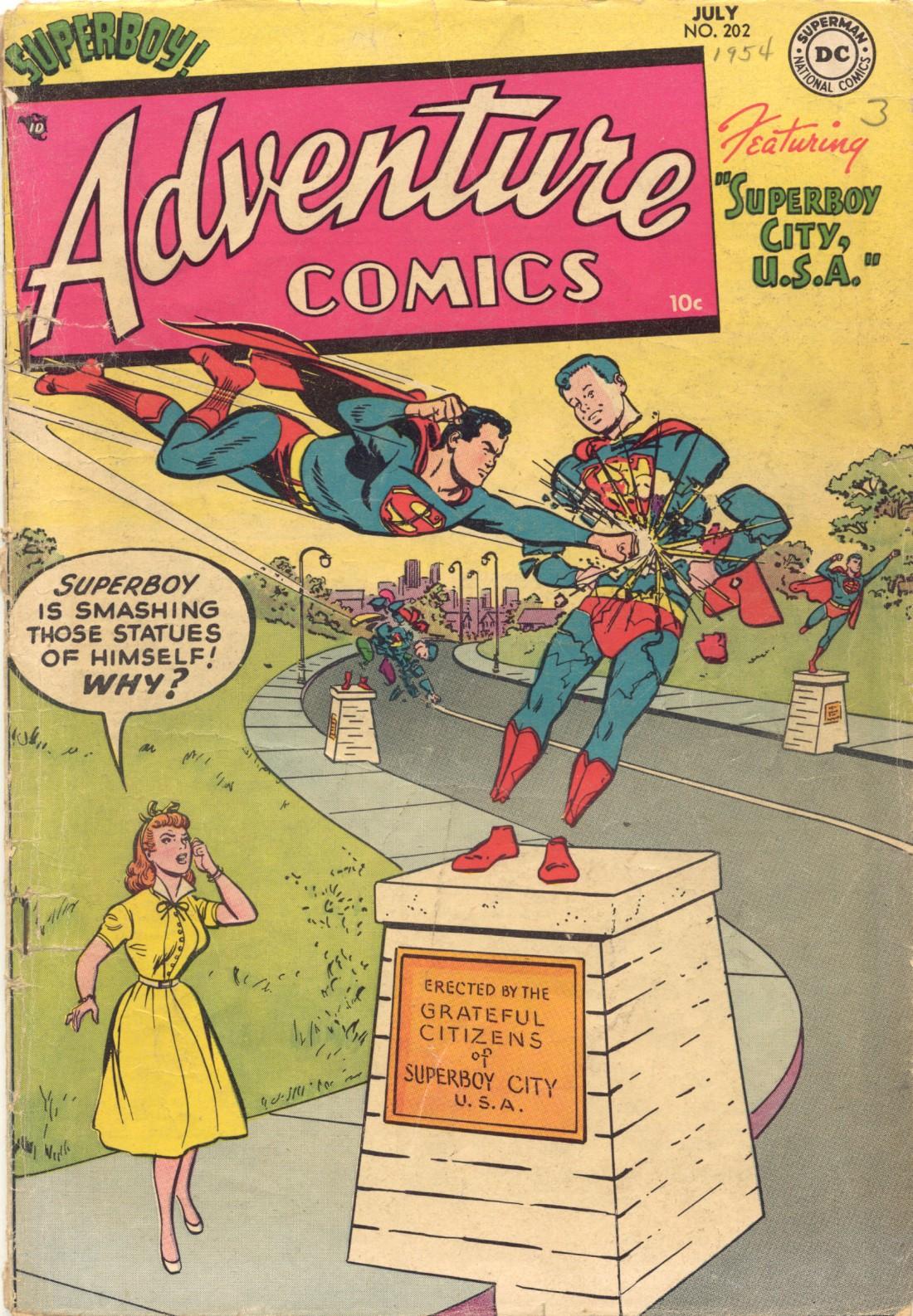 Read online Adventure Comics (1938) comic -  Issue #202 - 1