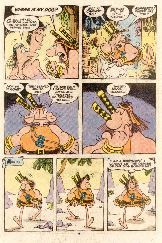 Read online Sergio Aragonés Groo the Wanderer comic -  Issue #38 - 9
