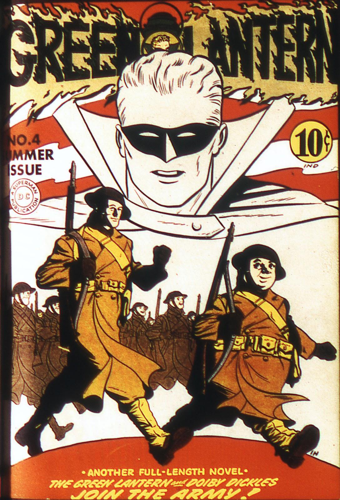 Green Lantern (1941) 4 Page 1