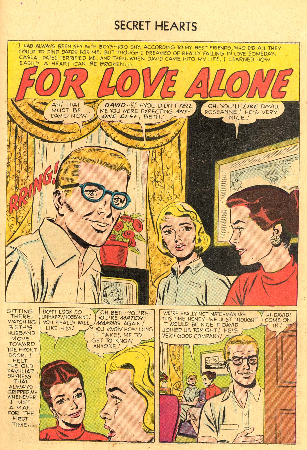 Read online Secret Hearts comic -  Issue #36 - 19