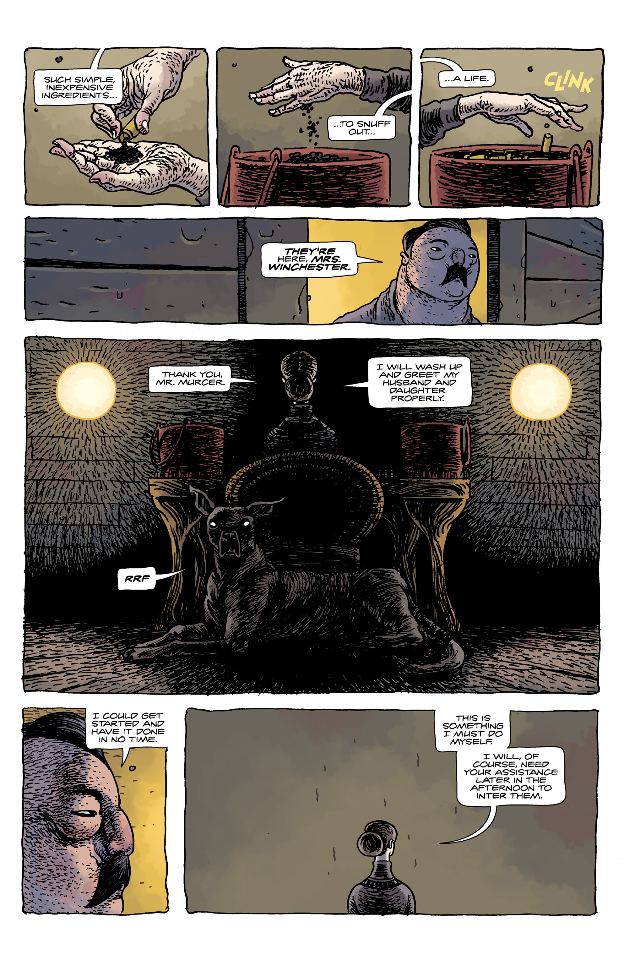 House of Penance 1 Page 5