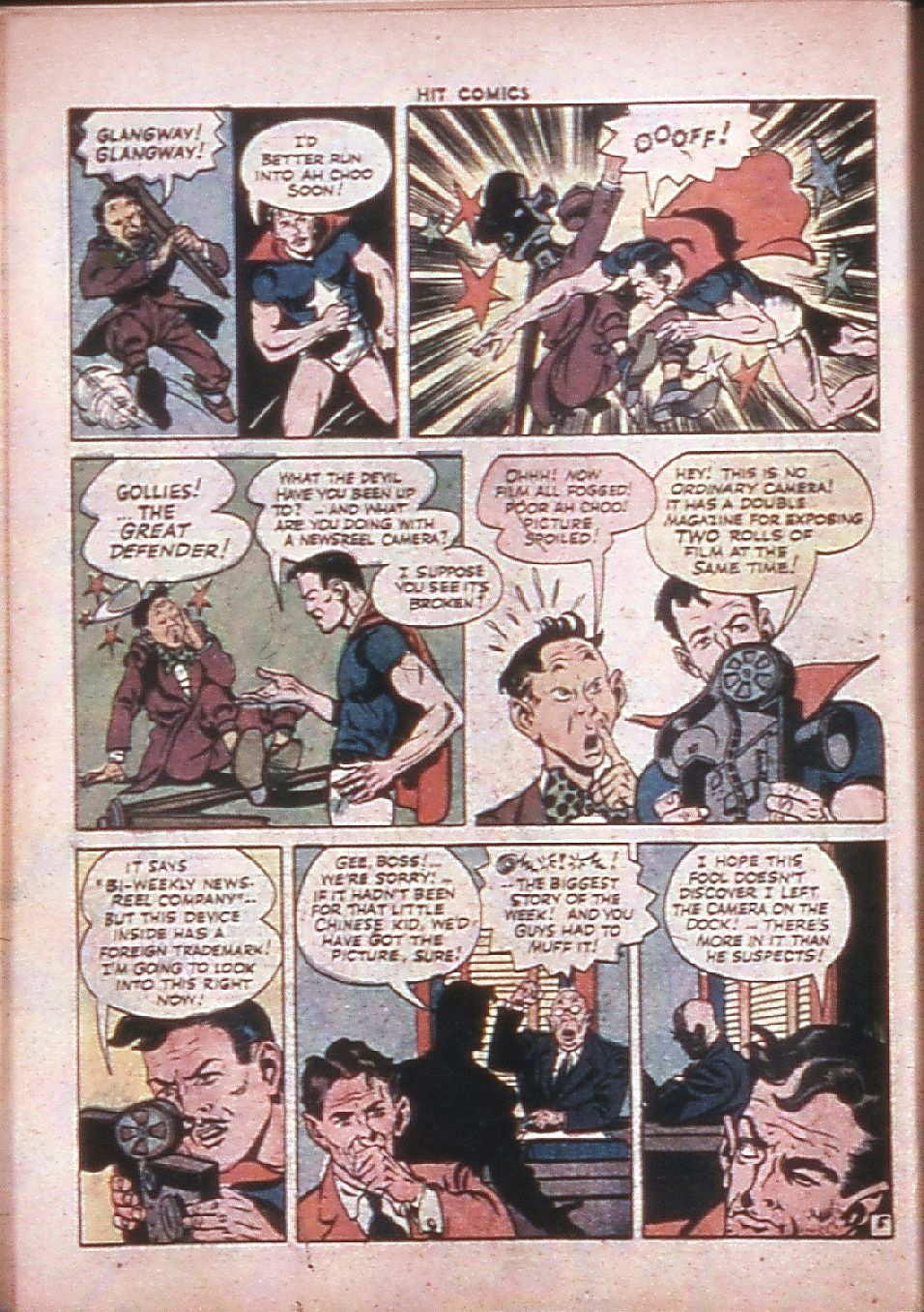 Read online Hit Comics comic -  Issue #33 - 41