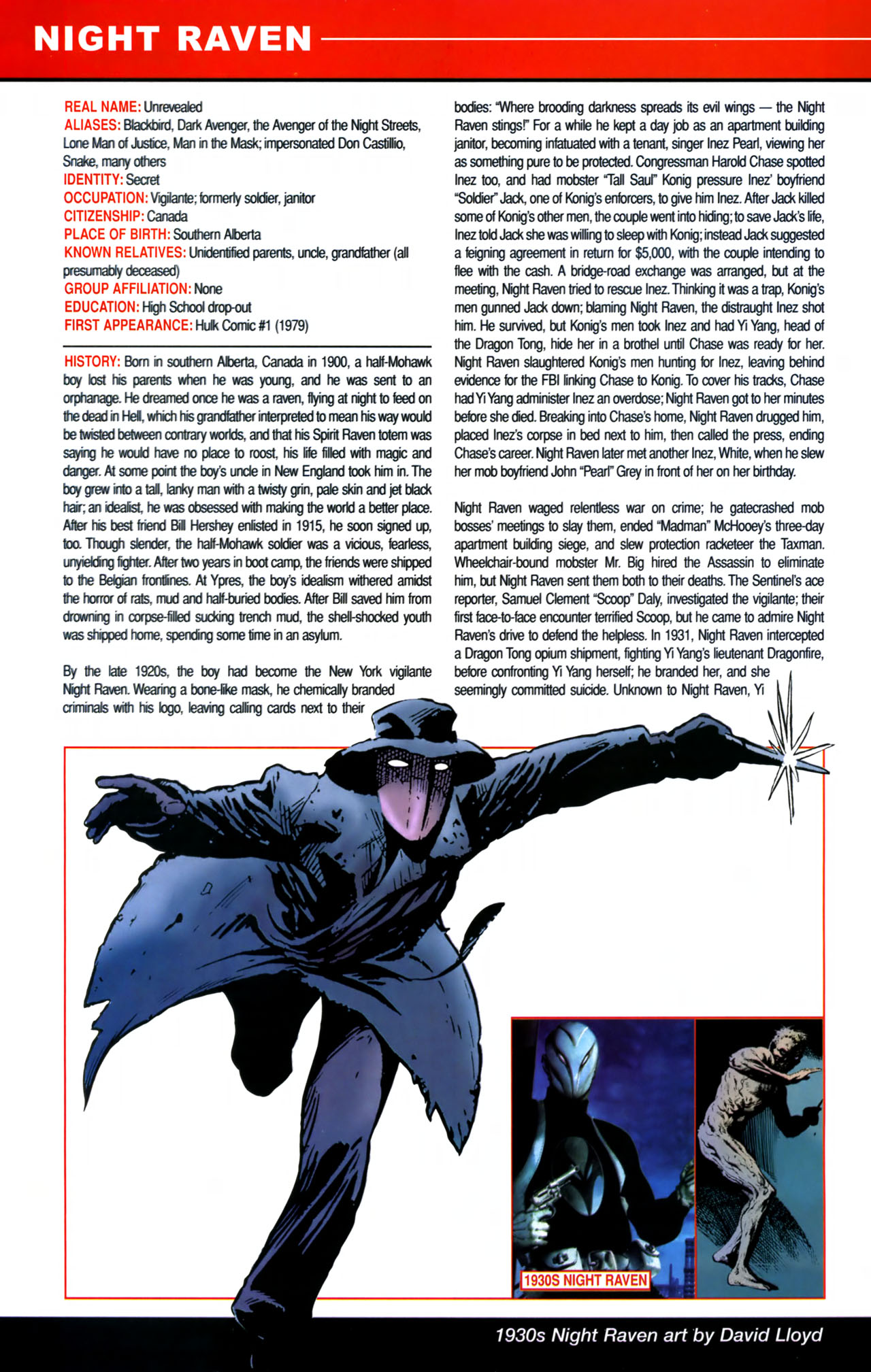 Read online All-New Official Handbook of the Marvel Universe A to Z comic -  Issue #8 - 12